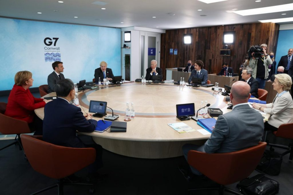 The G7 summit kicked off in Britain.  Politicians promise economic recovery, help for Africa - ČT24 - Czech TV
