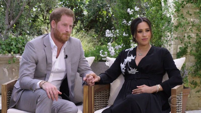 The journalist was fired after commenting sarcastically on the name of her daughter Harry and Meghan
