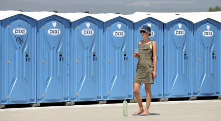 Their authors say you can use women's urinals up to six times faster than a portable toilet