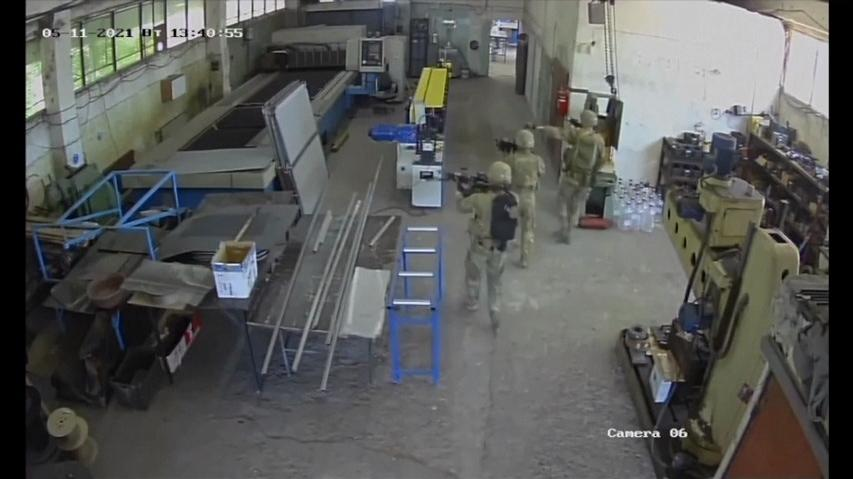 Video: US soldiers accidentally occupied a private factory during an exercise
