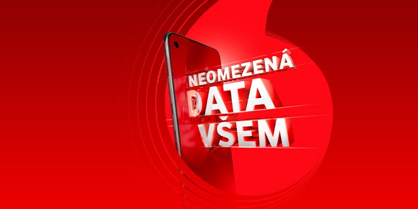 Vodafone has the cheapest unlimited data for CZK 599.  The only limit is speed - MobilMania.cz