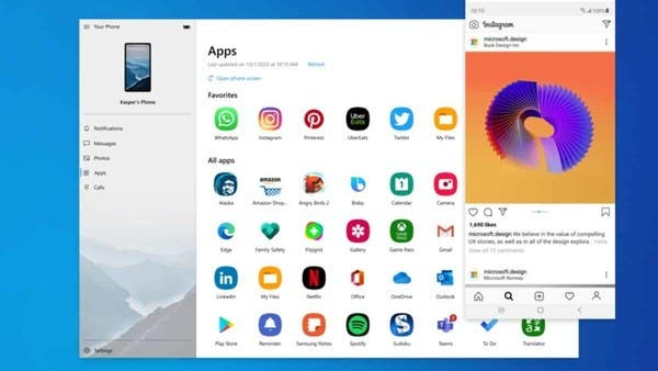 Without an emulator, you can run Android apps on Windows 10