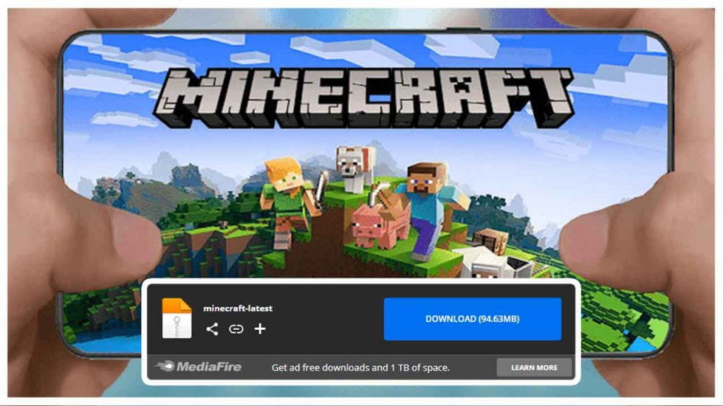 How to download the original Minecraft game for free without a visa on all devices in 5 minutes