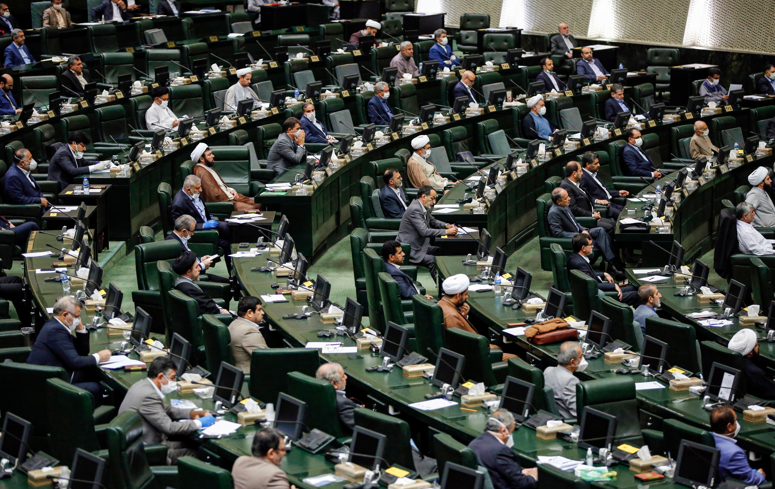 The Islamic Consultative Assembly or the Iranian parliament (archive)