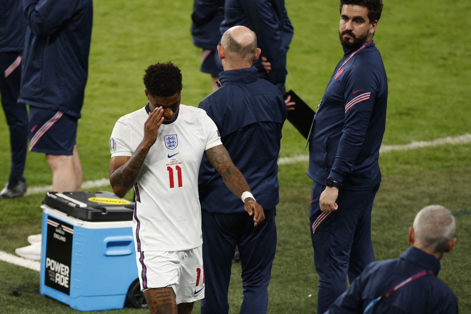 After missing the penalty kick, Rashford faces the risk of being sidelined for 3 months