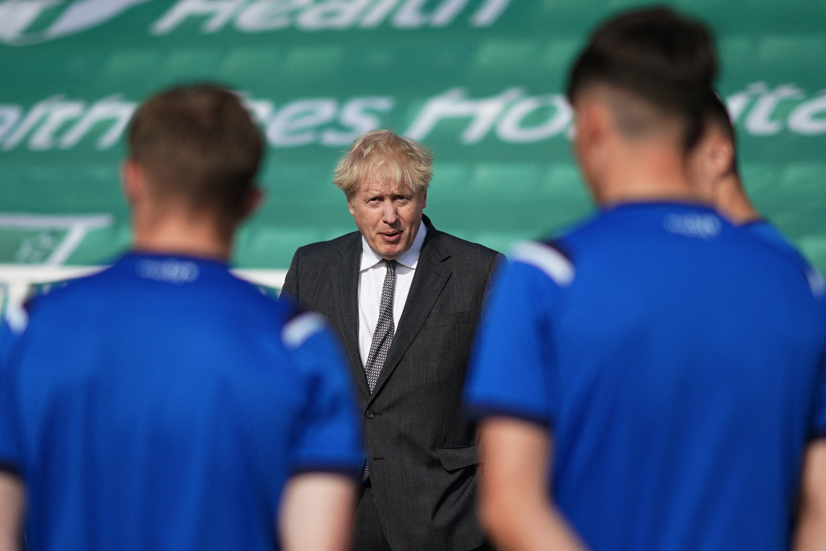 Johnson in an awkward position due to racism against England players
