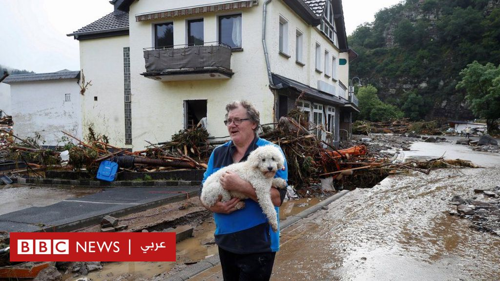 Climate change: Floods claim dozens of lives in Germany and Belgium