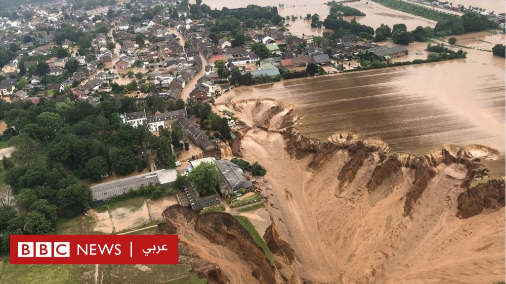 European floods: more than 120 dead and hundreds missing