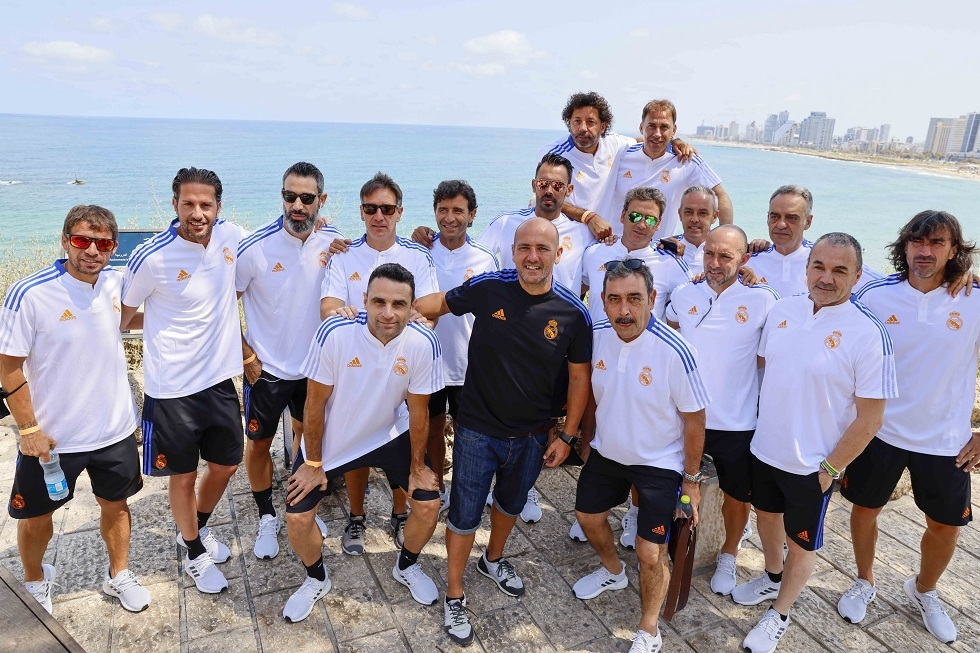 Legends of Barcelona and Real Madrid in Jaffa (photos)