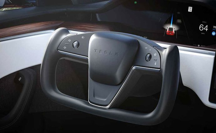 Musk has confirmed that the Tesla Model S will never return to the classic steering wheel