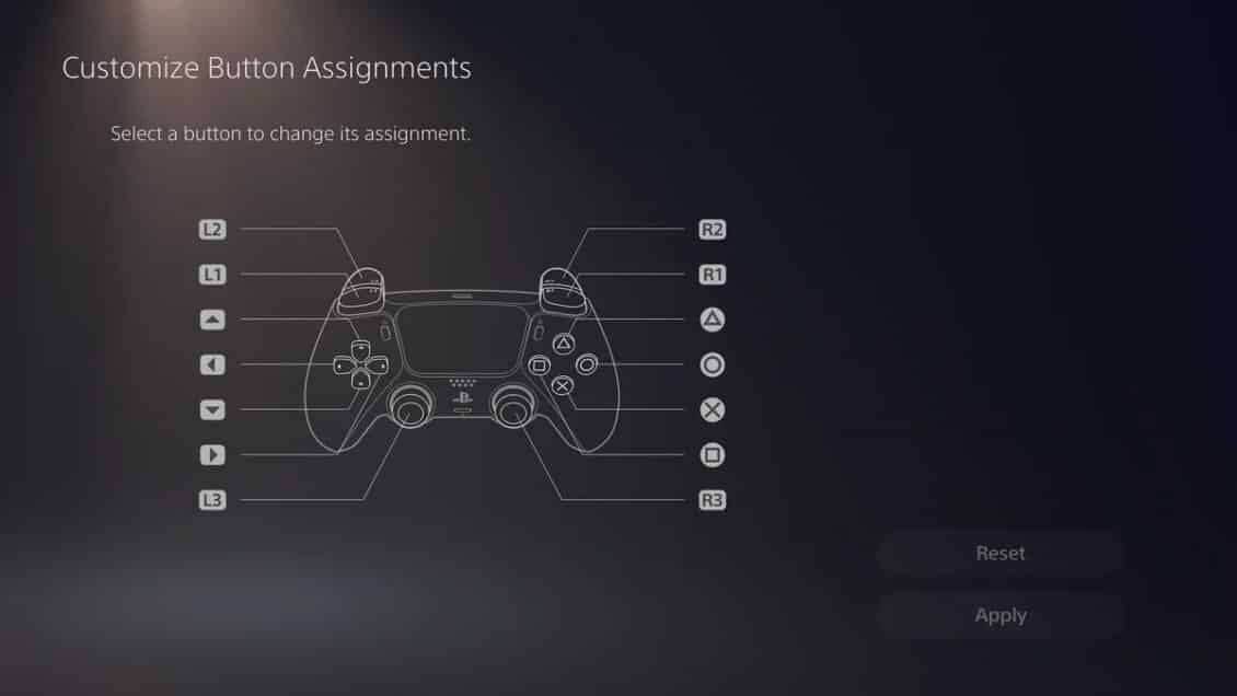 How to reset the playstation 5 controller buttons