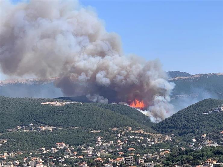 Akkar is burning.. the fire surrounds the people, and Lebanon asks for the help of countries