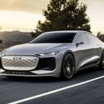 The Audi A6 electric car will arrive in two years.  It will use completely new technology
