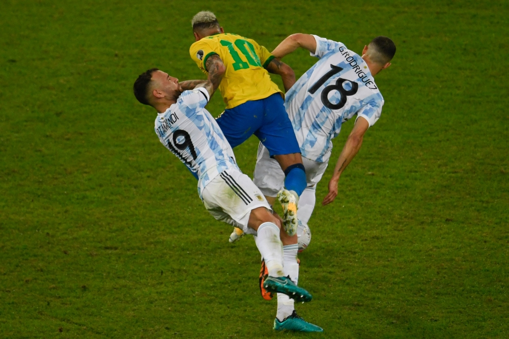 Argentina and Brazil .. Shocking reasons lost the Copa America final fun, including Messi!  - Sports - Arab and international