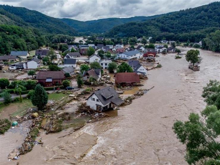 It happens once every 100 years .. What caused the catastrophic floods in Germany?  (photo)
