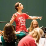 Oksana Lenev, the first woman in history to conduct an opera – our lives – destinations