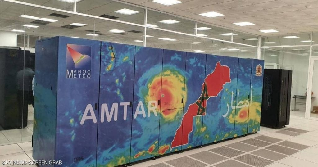 """""""Rain"""" .. a supercomputer to monitor climate changes in Morocco"""