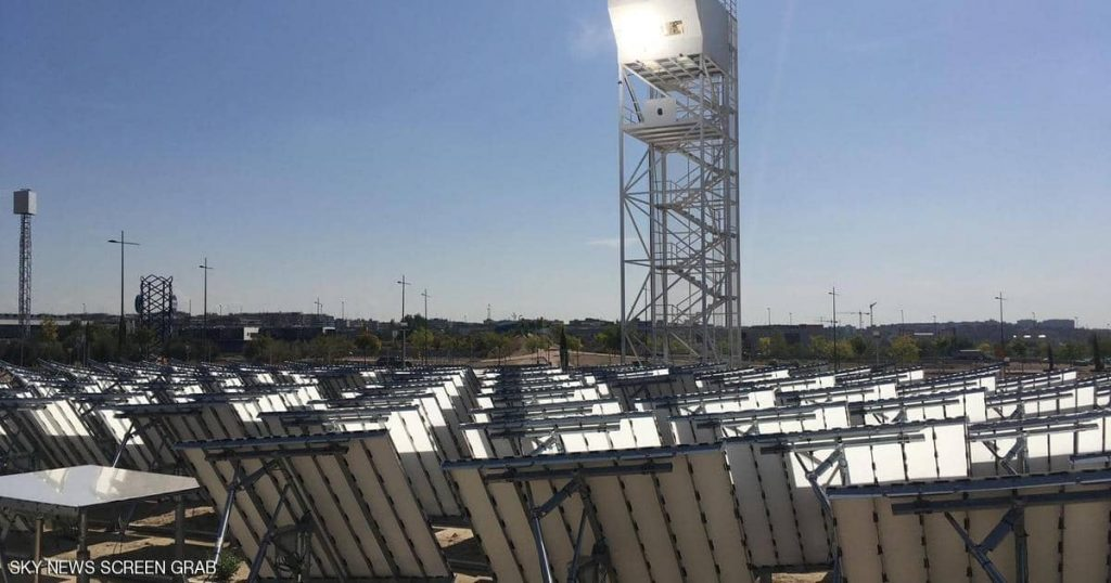 """""""Solar fuel storage"""" .. a new step towards climate protection"""