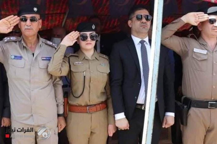 The Ministry of the Interior investigated 3 Kirkuk police officers after saluting the Turkish flag
