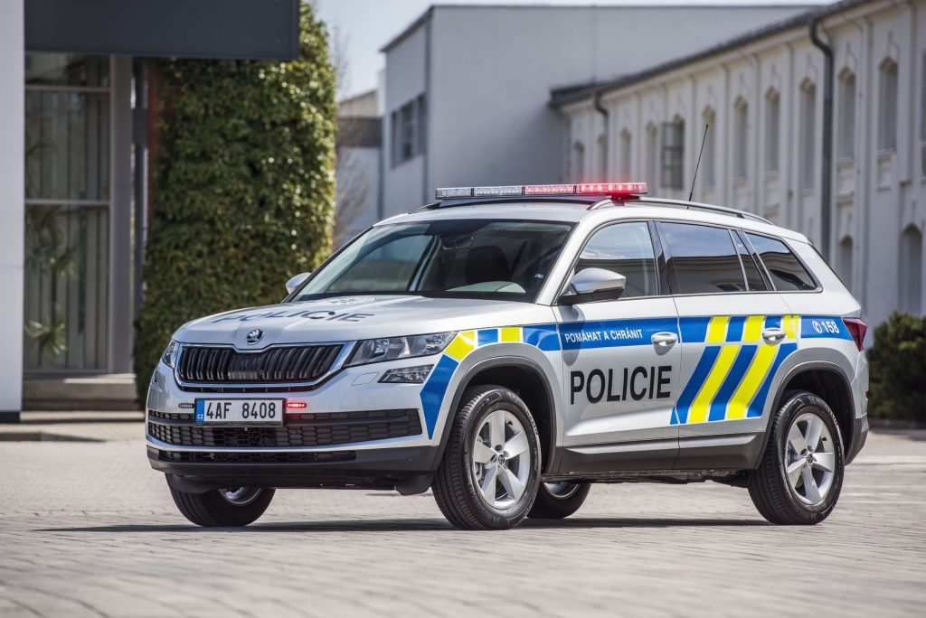 The police captured the first five hundred new Kodiaks.  It also changes its Superby highway