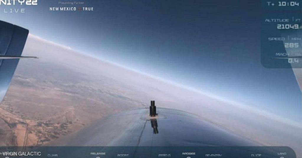 Video.. The success of the first manned tourist flight into space