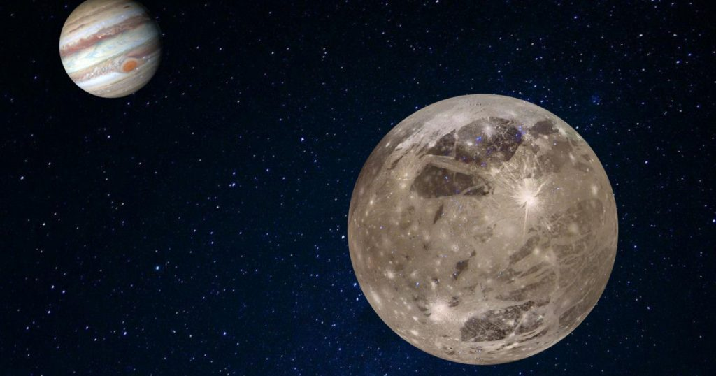 The discovery of water vapor over Ganymede, one of Jupiter's largest moons |  Sweden