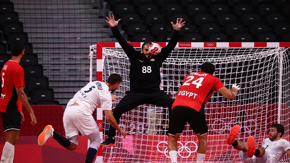 The French handball team ends Egypt's adventure in the Tokyo Olympics