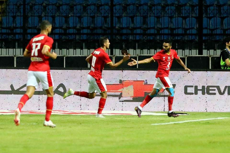 The first half .. Al-Ahly leads Al-Ismaily with an honorable goal