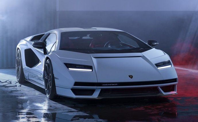 Lamborghini Countach LPI 800-4 It's Official: The Old New Frontier Has Sian Technology!