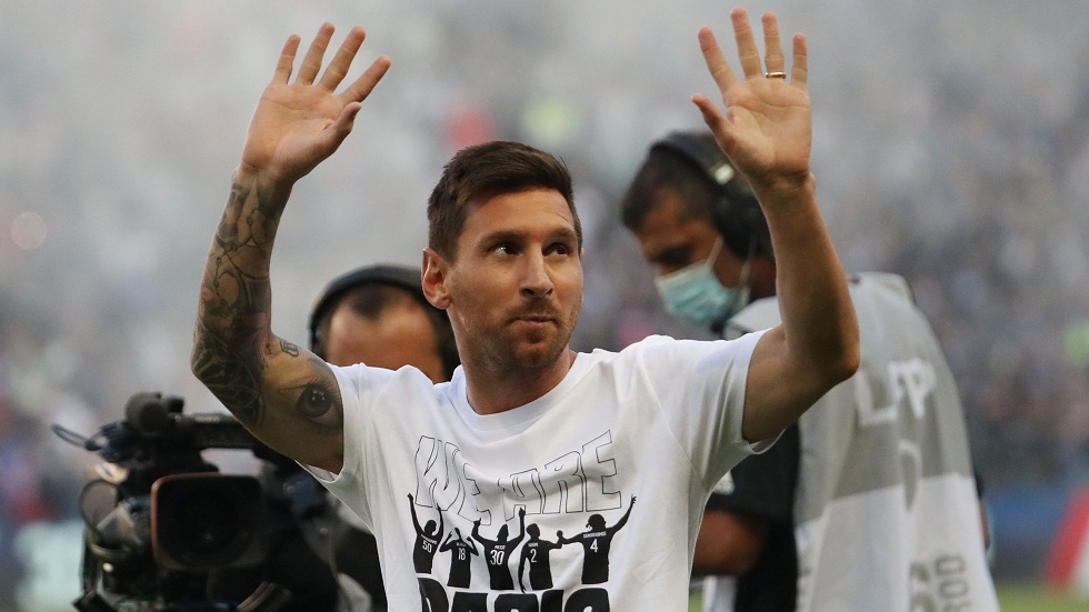 Messi publishes a video thanking PSG fans for the warm welcome at the stadium