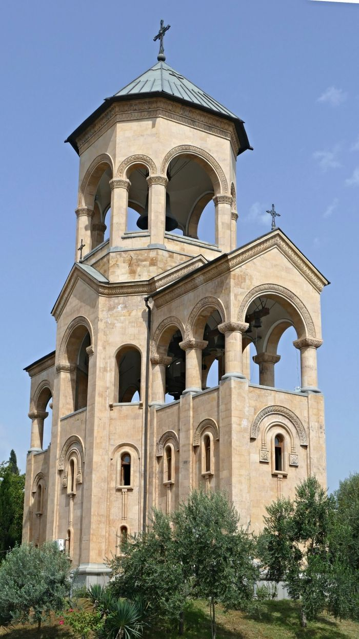 Part of the Holy Trinity Cathedral complex
