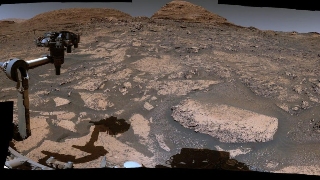 Take a panoramic video tour of Mars with Curiosity Rover