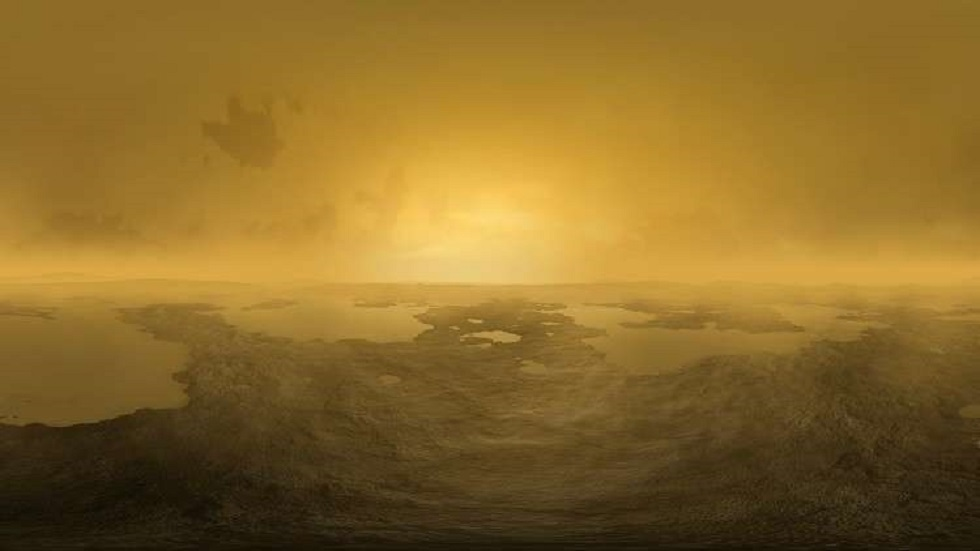 Scientists recreate the atmosphere of Saturn's largest moon in the lab
