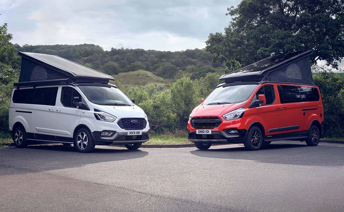 European Ford has introduced new residential homes for adventurers