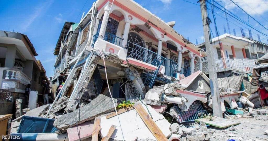 A devastating earthquake hits Haiti... and the victims are 304 dead