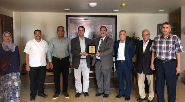 """A scientific delegation from the """"Regional Space for Teaching Space Sciences"""" visits the National Institute for Astronomical and Geophysical Research and the Kattameya Observatory in Egypt"""
