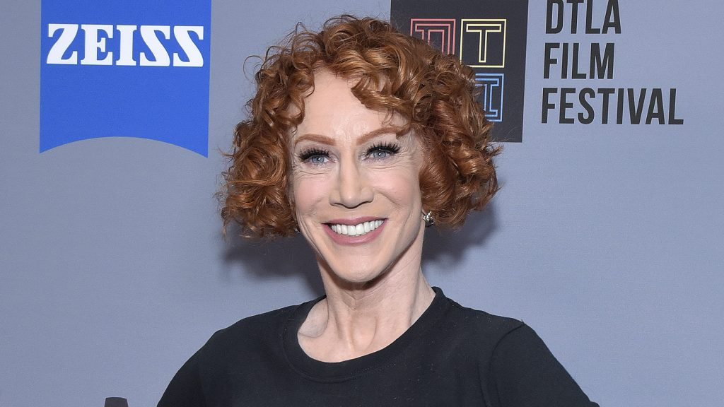 Kathy Griffin diagnosed with stage 1 lung cancer