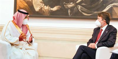 Minister of Culture meets with his Italian counterpart and Minister of Culture and Digitalization of the United Kingdom
