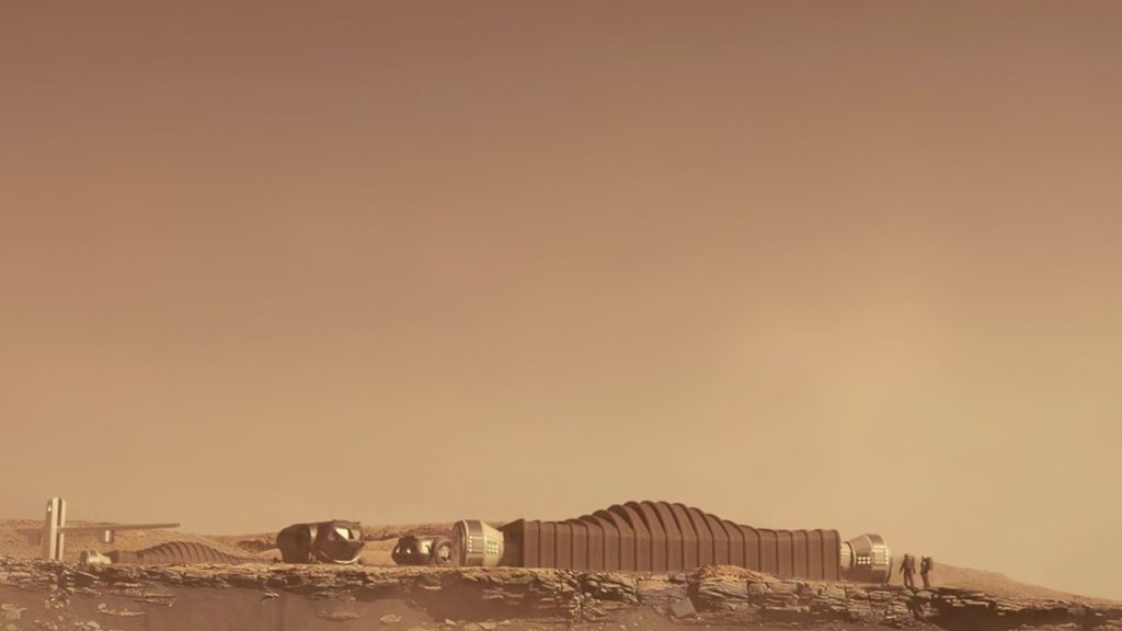 NASA simulates the experience of living on Mars before sending humans to the Red Planet    panorama