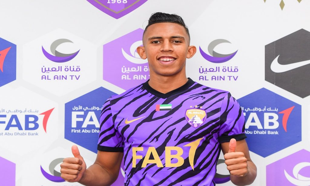 Officially.. Al Ain signs Moroccan player Rahimi