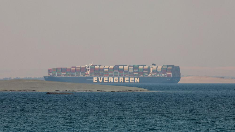"""The tanker """"Ever Given"""" made a successful voyage through the Suez Canal to China"""