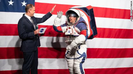 NASA designs new spacesuits for upcoming lunar mission in 2024