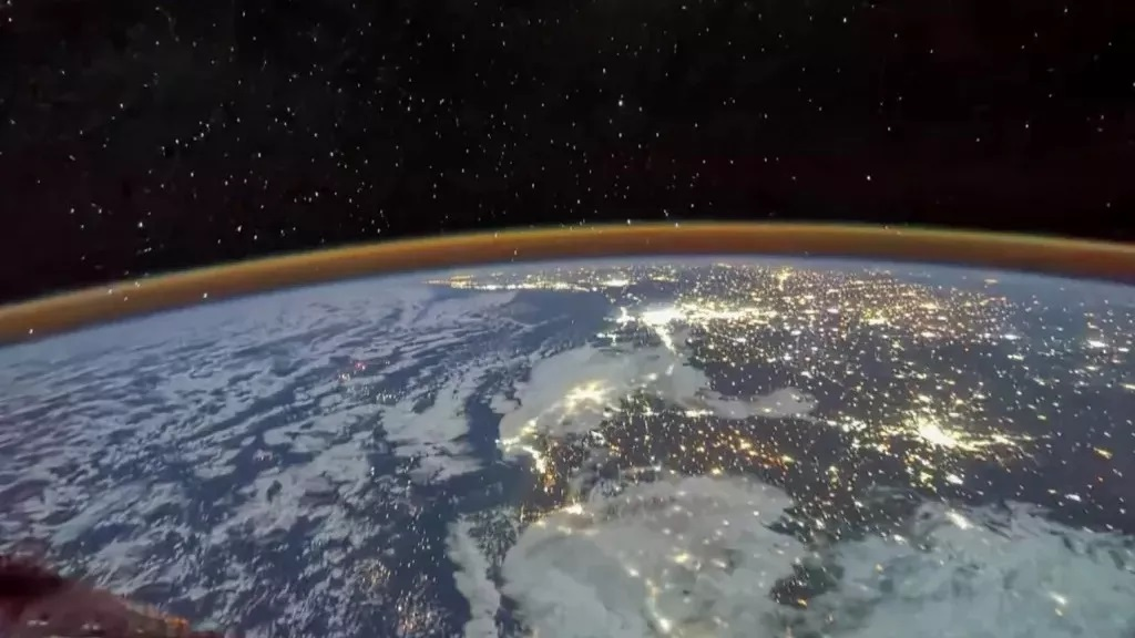 Chinese astronauts send stunning pictures of Earth from Tiangong Space Station