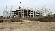 In Kojetín in the Přerov region, on the site of the former sugar factory, a giant logistics company ...
