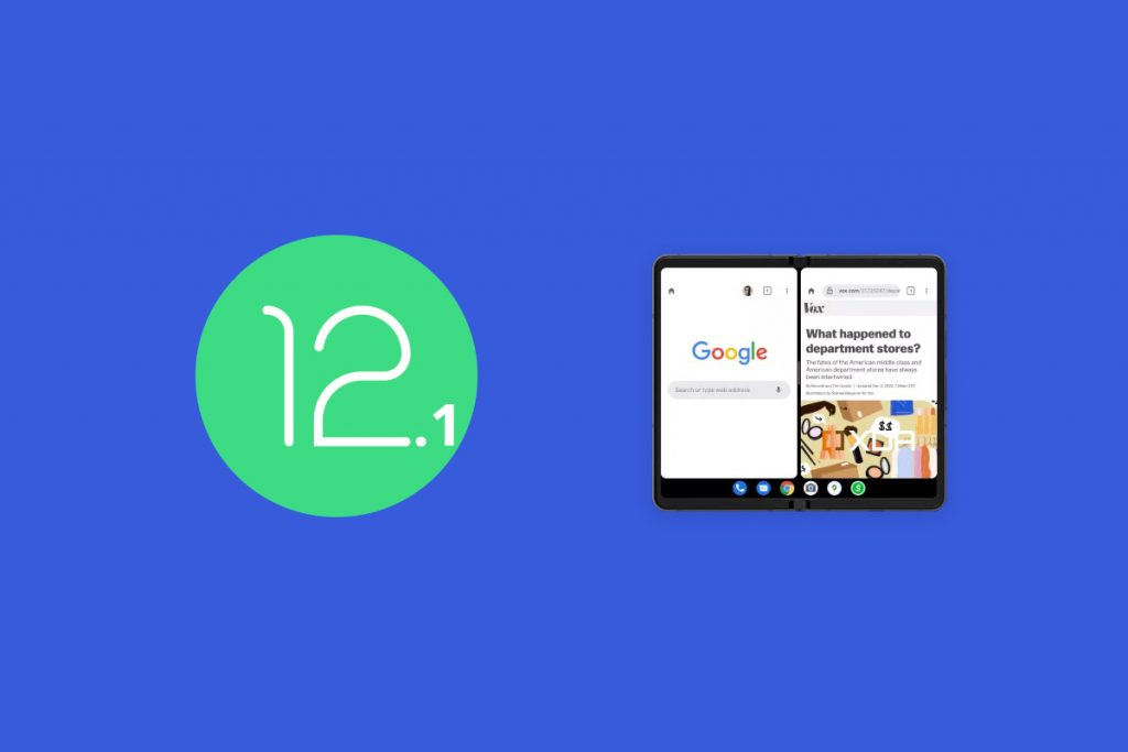 Android 12.1 likely to test foldable phone improvements for Pixel Fold