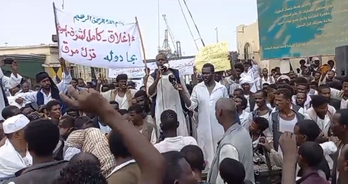 Sudan.. Protesters close Port Sudan airport in the east of the country