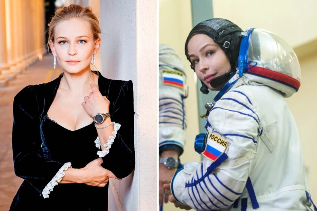 A Russian star is heading to the International Space Station next week to shoot the world premiere of the space movie