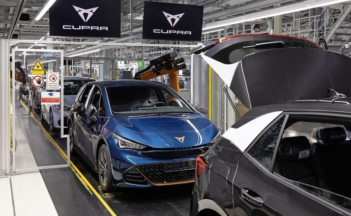 Cupra Born production has already started.  It is built by the largest electric car manufacturer in Europe
