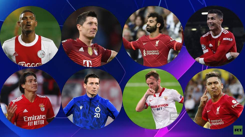 Ranking of the best scorers in the Champions League after Ronaldo's goal and Salah's double (video)