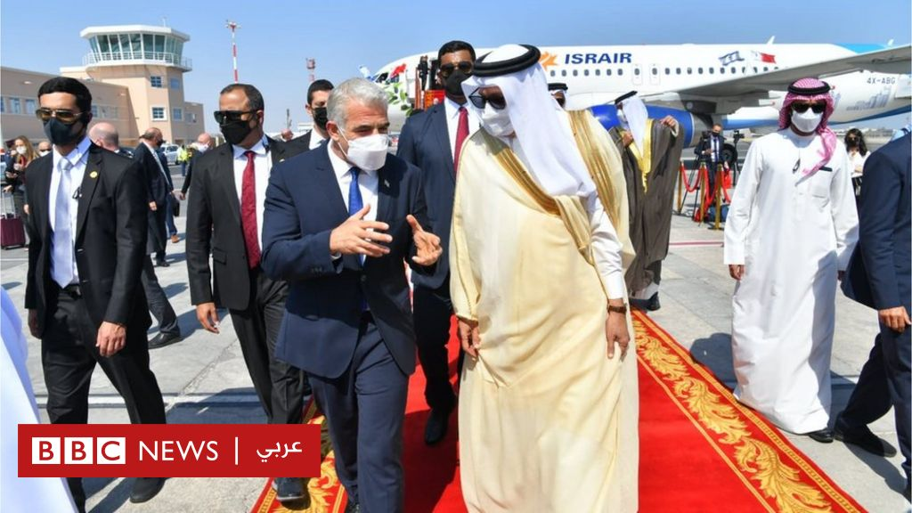 Normalization: Yair Lapid, Minister of Foreign Affairs of Israel, opens an embassy in Bahrain